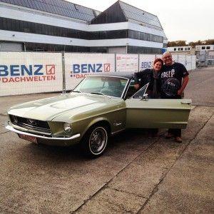 Mustang Baujahr 1968 390 S-Code