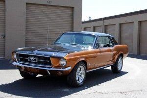 Mustang 1967 C-Code 289cui