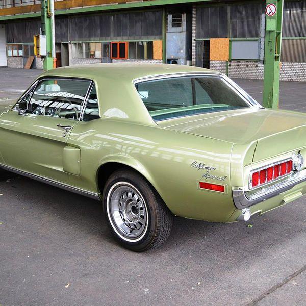 Mustang 1968 California Special