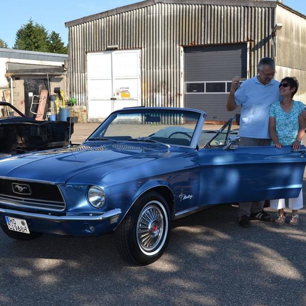 Mustang Baujahr 1968 289cui Cabriolet