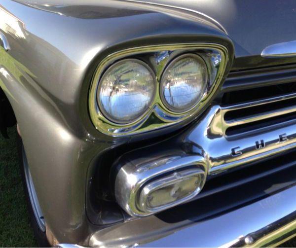 Chevy Apache 31 Bauhjar 1958 - Shortbed Stepside