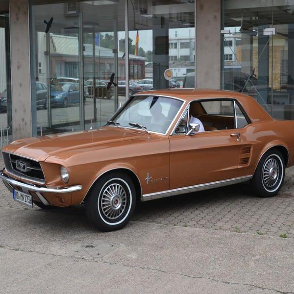 Mustang Baujahr 1967 CUI