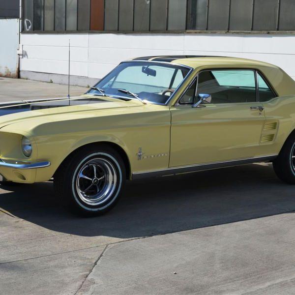Mustang Baujahr 1967 GT-Optik