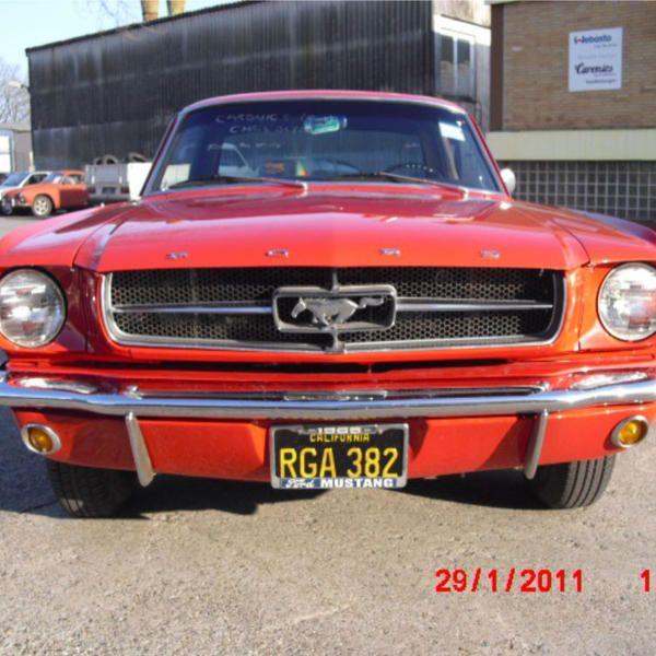 Mustang Bj. 65 289 CUI